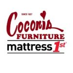 Coconis Furniture Burgundy - Mattress Black 1st Red1