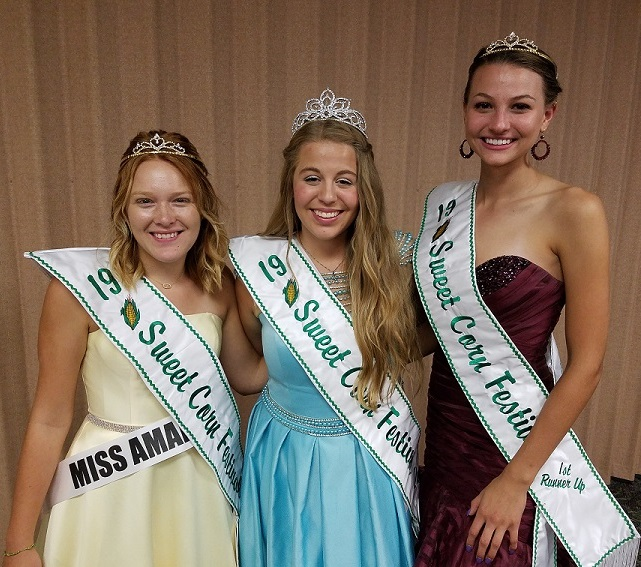 Sweet Corn Festival Queen and Court