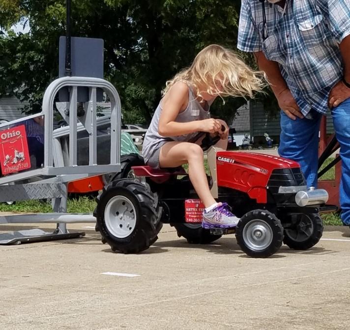 Sweet Corn Festival Kiddie Tractor Pull